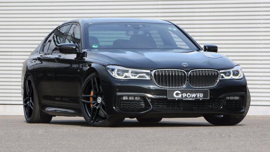G-Power pousse la BMW 750d à 460 ch