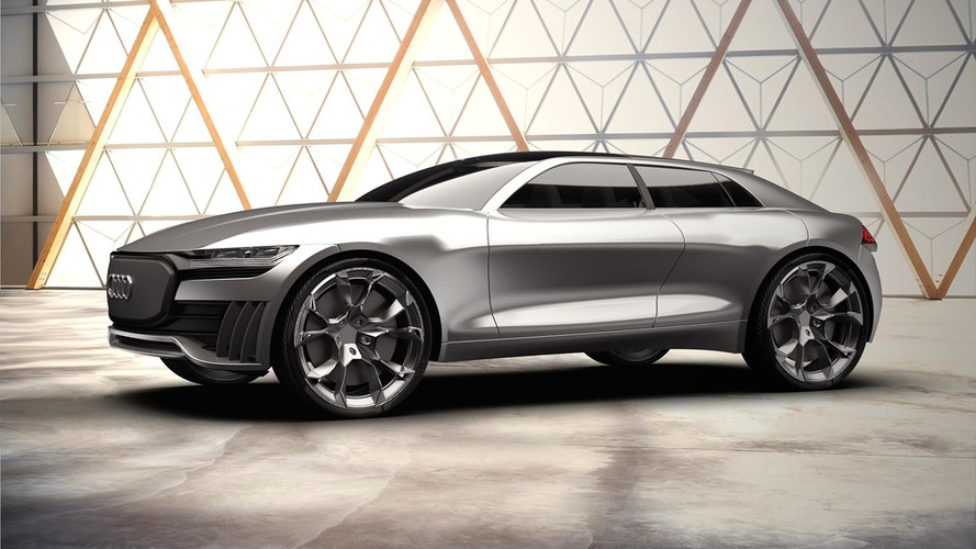 Audi Q ETron Concept Is An Interesting Electric SUV Proposal - Audi concept