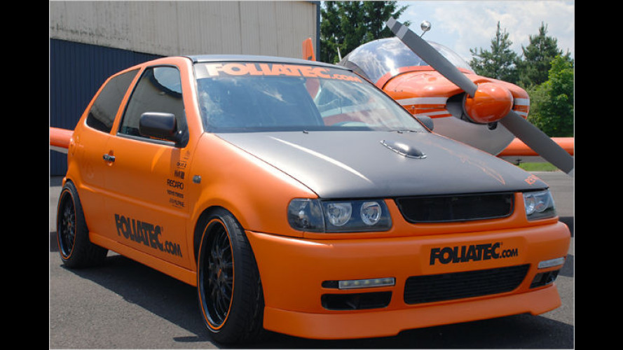 Foliatec motzt alten VW Polo auf und nennt ihn Revo