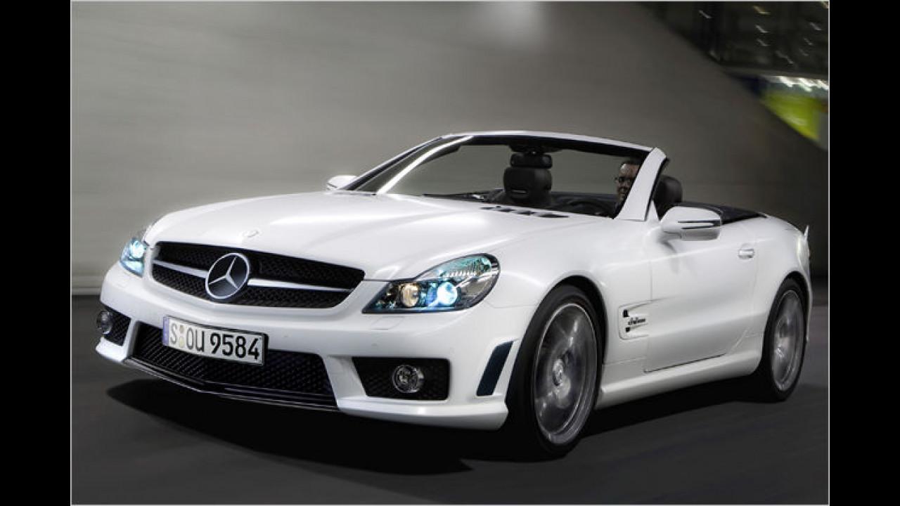 Mercedes SL 63 AMG IWC