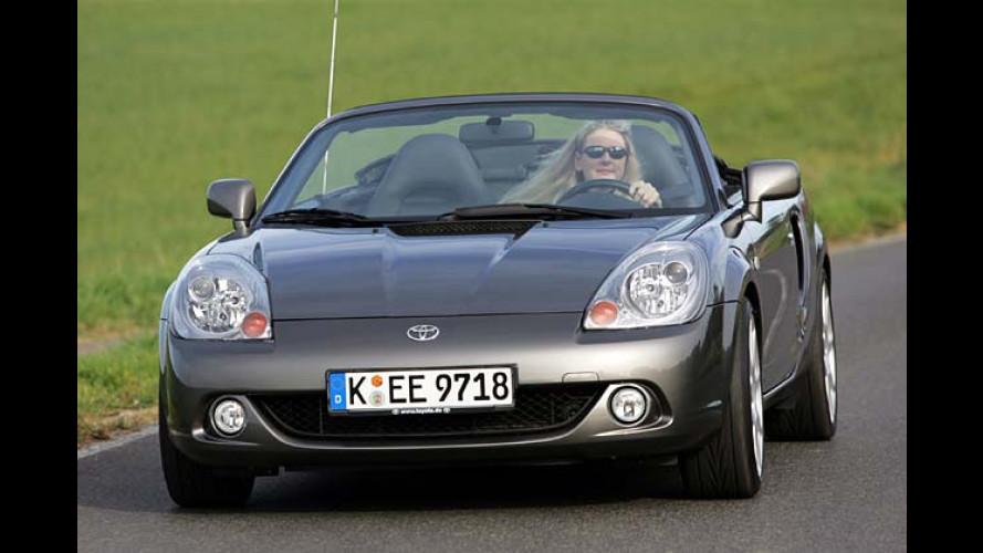 Toyota MR2 Edition S: Roadster und Preis tiefer gelegt