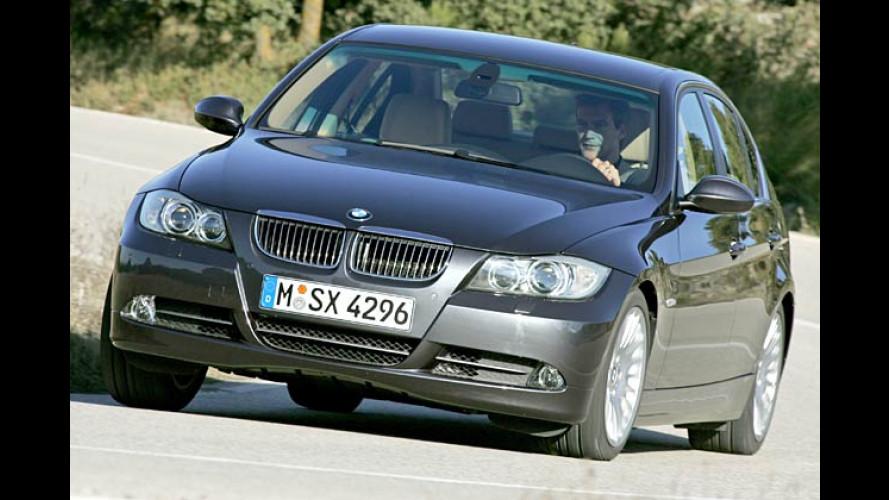 BMW 330i (2005) im Test: Kurz vor 5
