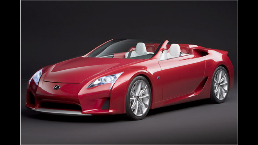 LF-A Roadster: Offener Supersportler à la Lexus