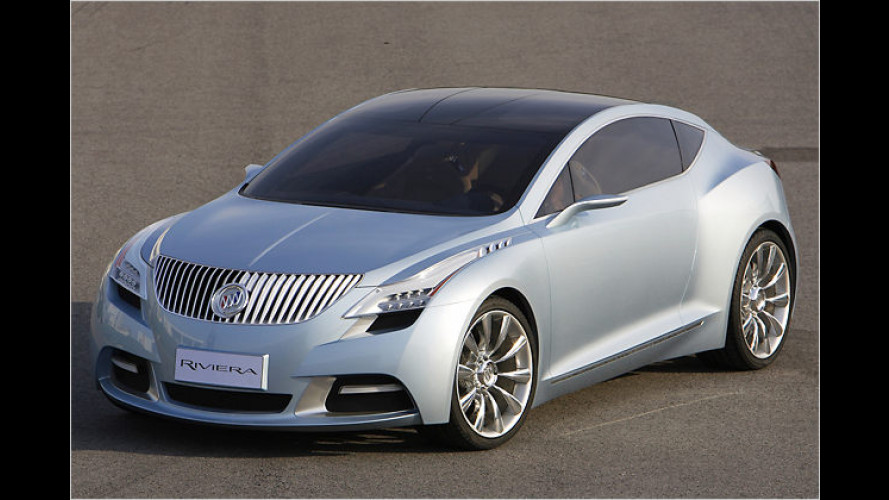 Geflügelte Lichtgestalt: Das Concept-Car Buick Riviera
