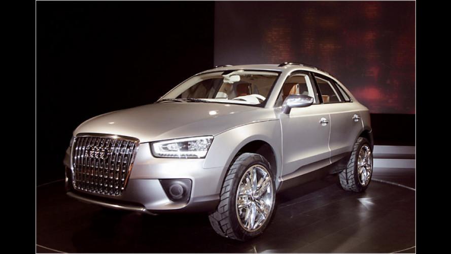 Heißer Ausblick: Audi-Concept-Car Cross Coupé quattro