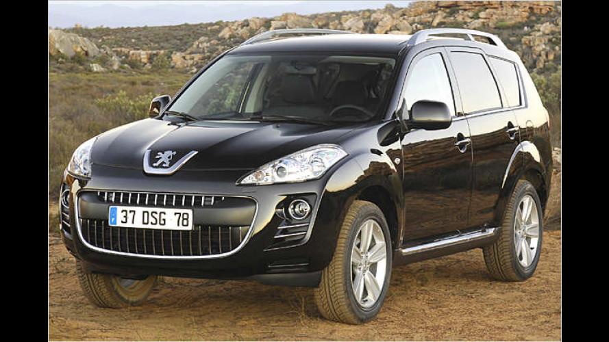 Peugeot präsentiert in Genf mit dem 4007 sein erstes SUV