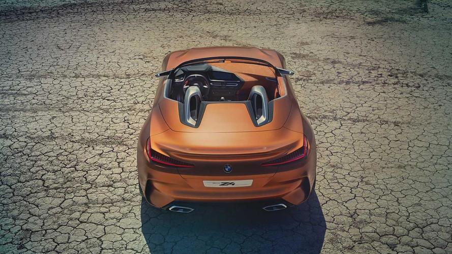 BMW Z4 Concept 2018: fotos oficiales filtradas