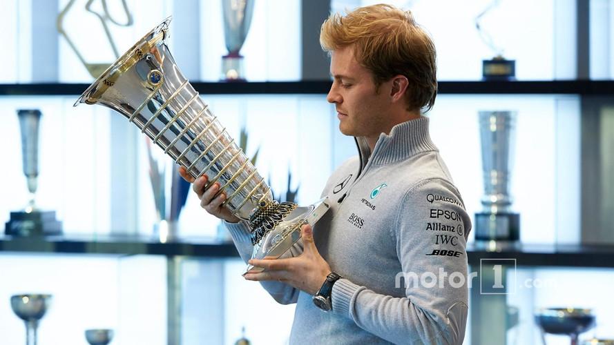 "Rosberg Admits F1 World Drivers' Championship Trophy ""Got Lost"""