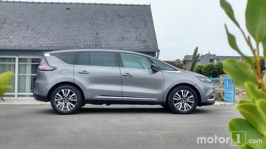 Essai Renault Espace 5 (2017) - Priorité au confort