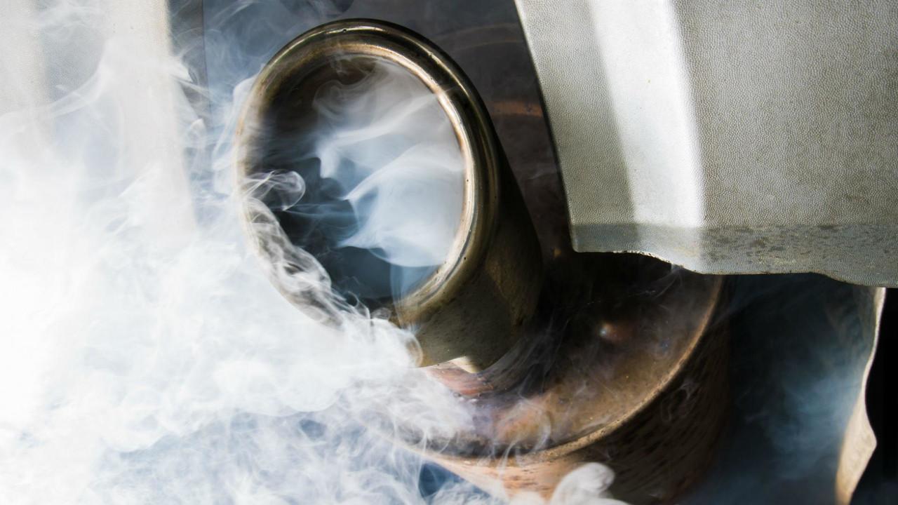 Diesel exhaust fumes