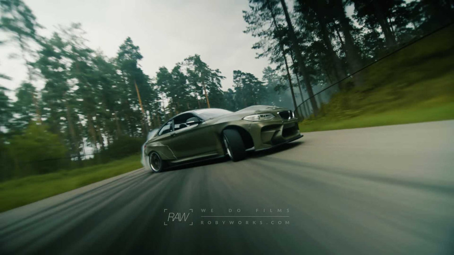 VIDÉO - Incroyable session de drift avec une BMW M2 de 820 ch