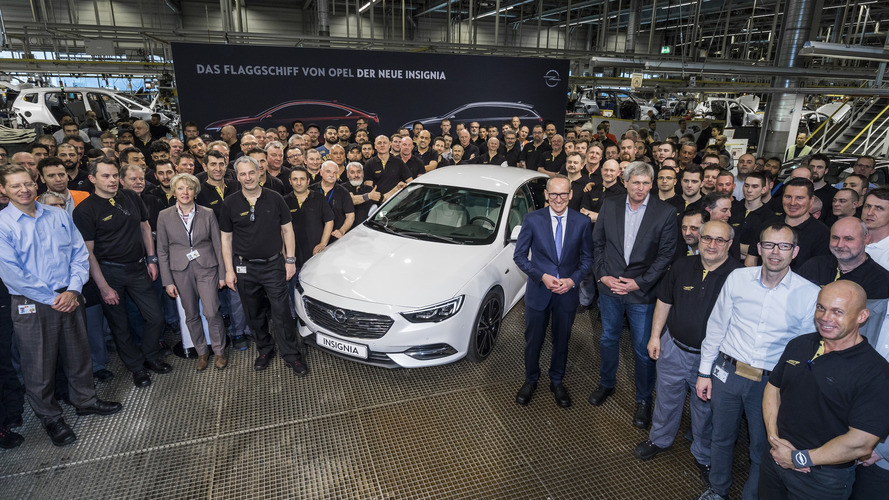 L'Opel Insignia entre en production