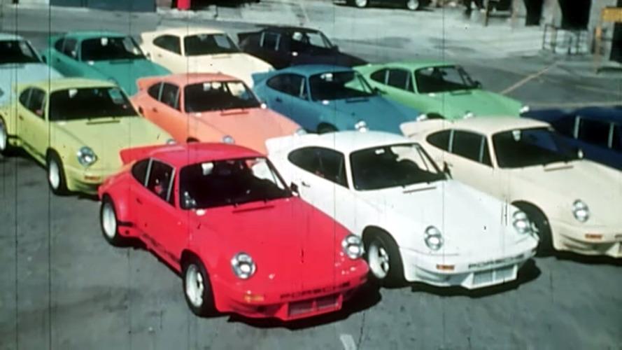 Porsche Decades of Disruption documentary photos