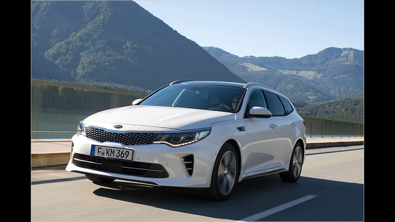 Top: Kia Optima SW
