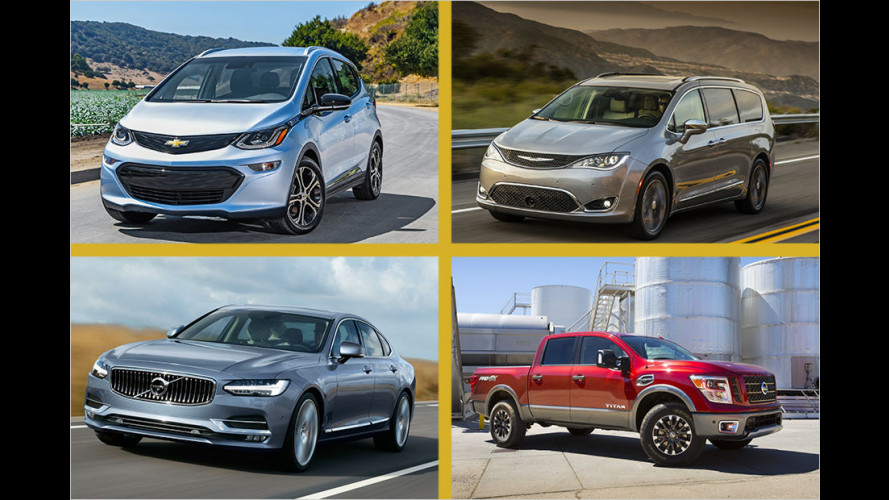 North American Car of the Year 2017: Die Sieger