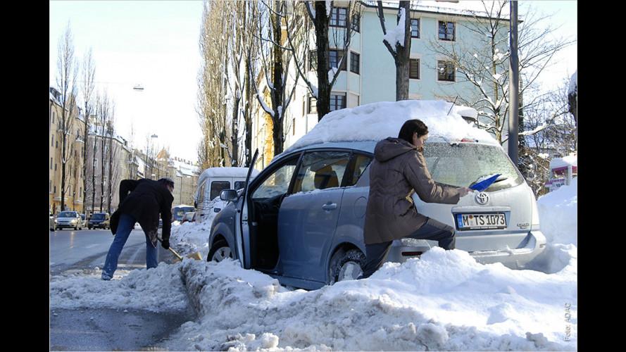 Die sieben Winter-Todsünden: Was Autofahrer jetzt tunlichst vermeiden sollten