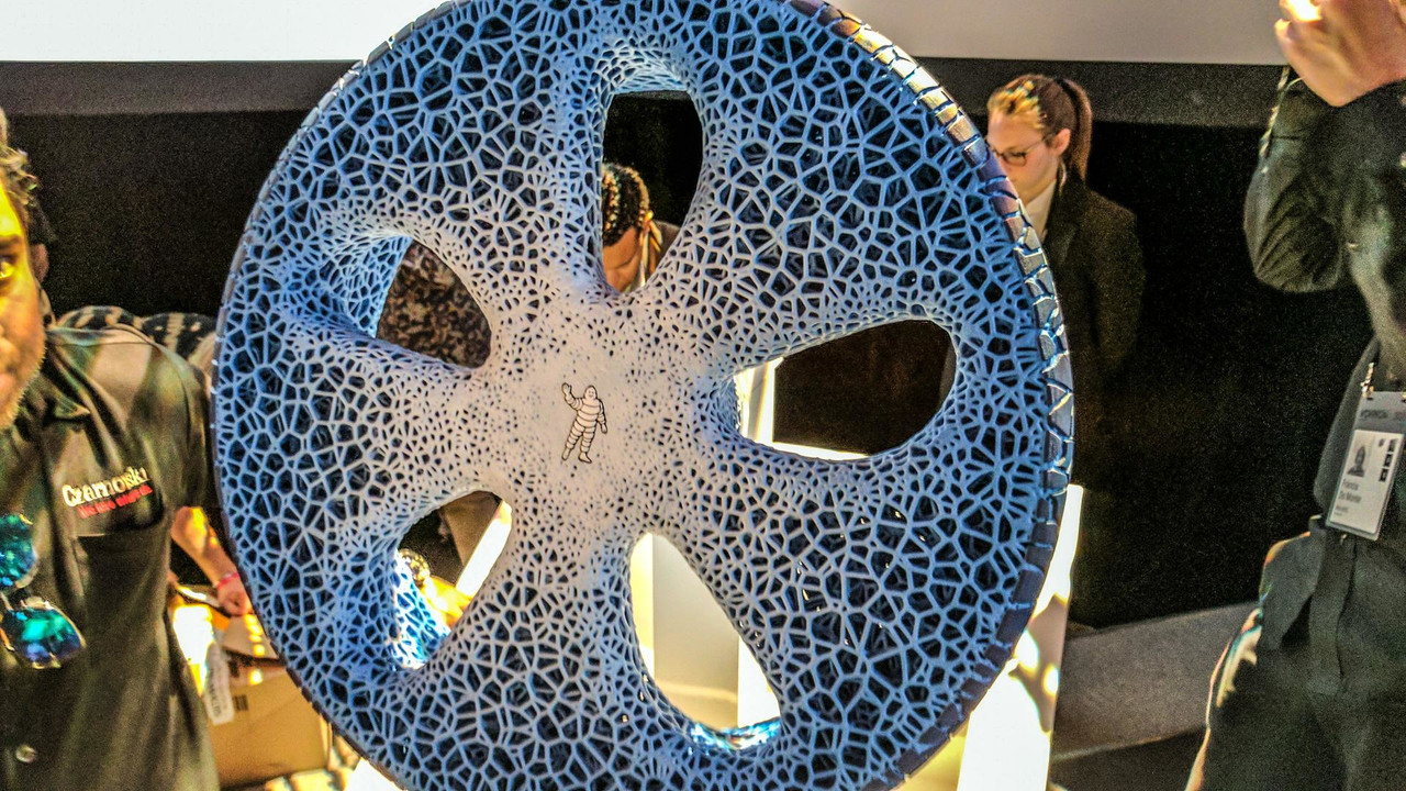 Michelin U0026 39 S Airless Tire Of The Future Uses 3d Printing