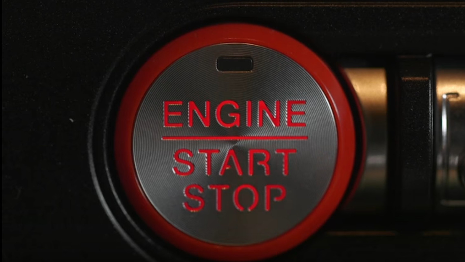 ford makes mustang start button pulse like horse s heart BMW Engine Start Button