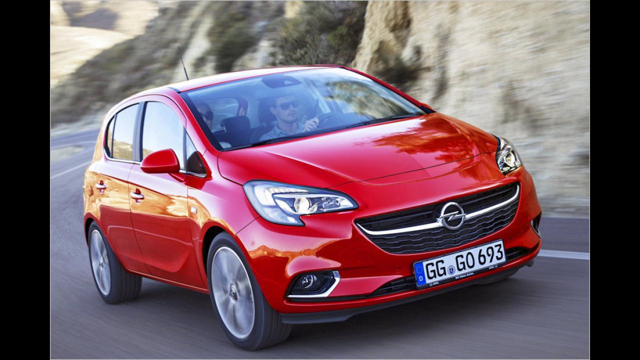 Platz sieben: Opel Corsa