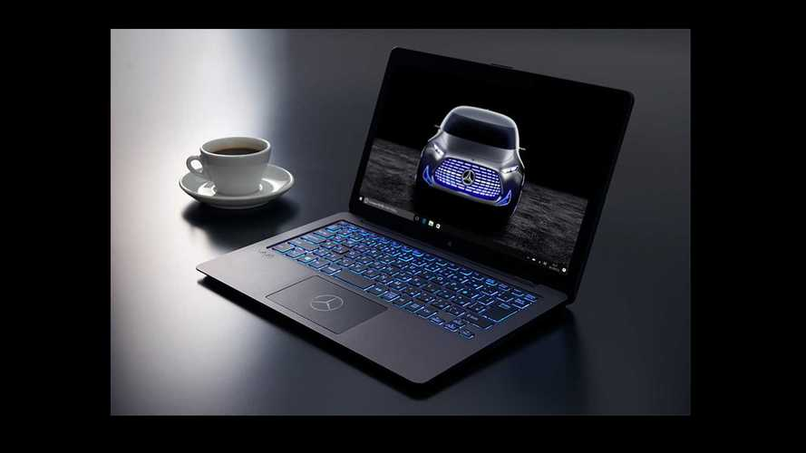 Sony, Mercedes Team Up For Special-Edition Laptop In Japan