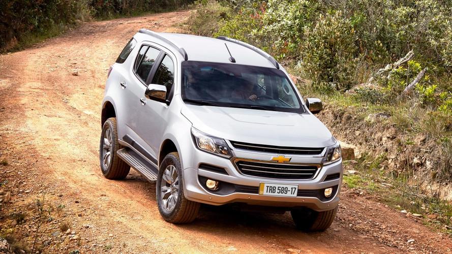 Chevrolet aumenta preços e Trailblazer fica R$ 5 mil mais caro