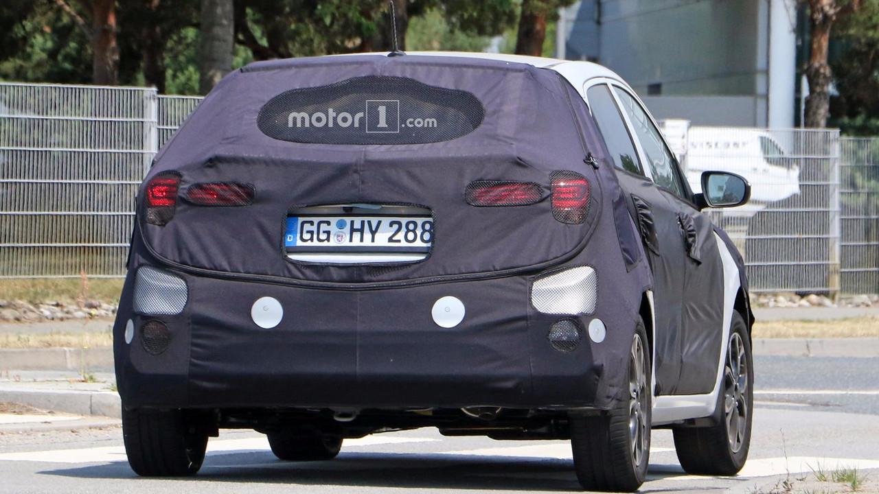 2018 Hyundai i20 - Tasarım (Arka)