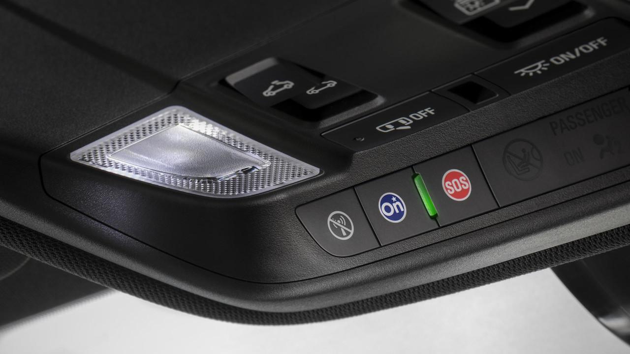 Opel OnStar düğmesi