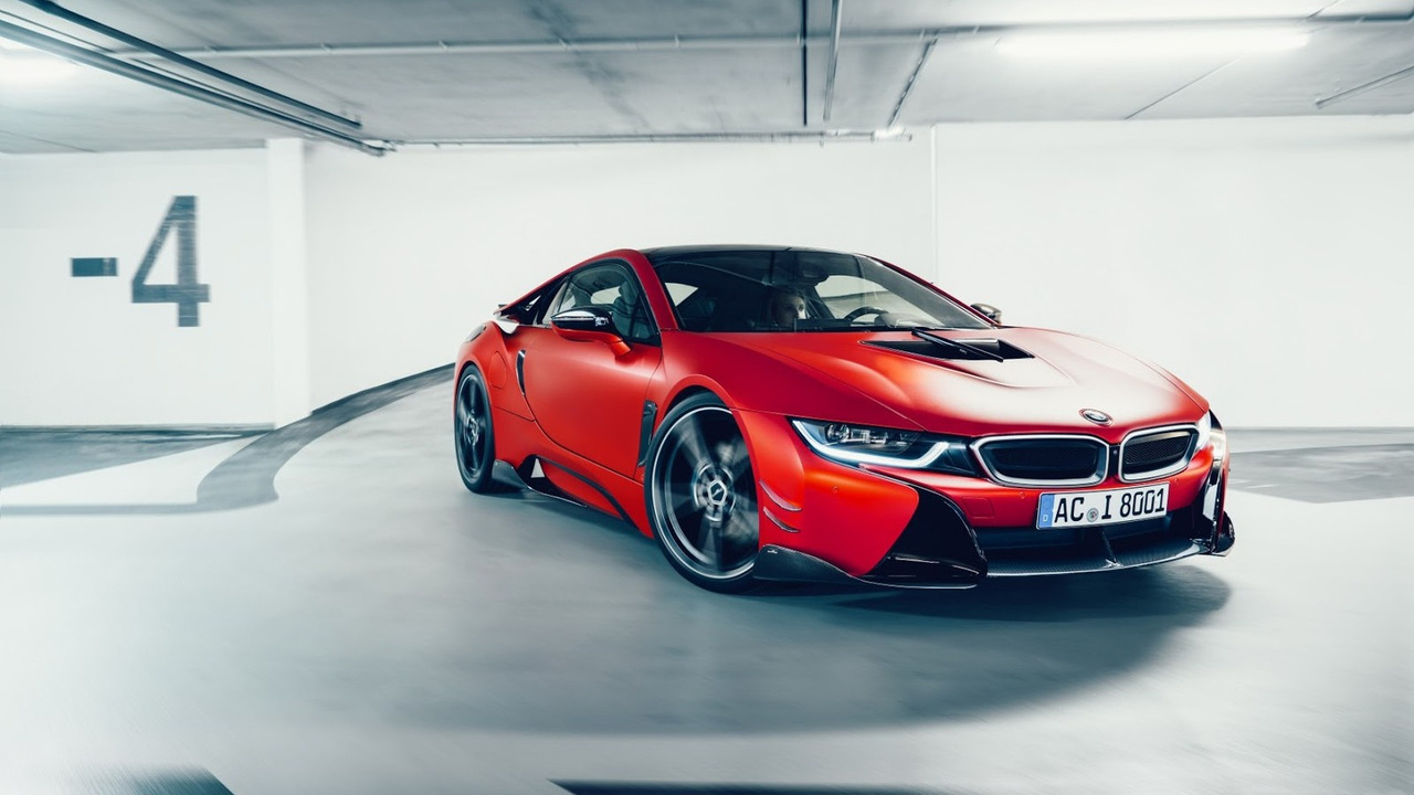 Ac Schnitzer Tuned Bmw I8 Laps Nurburgring In 8 19