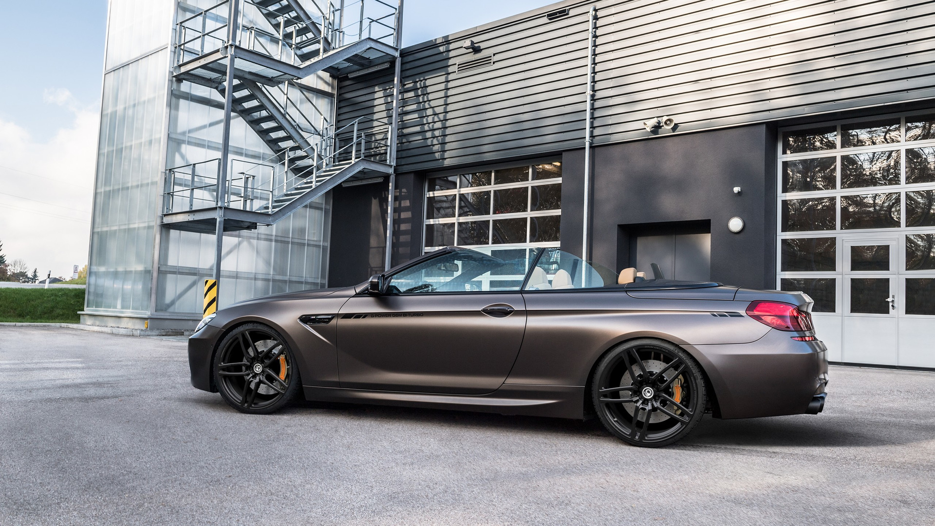 Bmw M6 Convertible Tuned To 800 Hp Can Hit 205 Mph 330 Kph