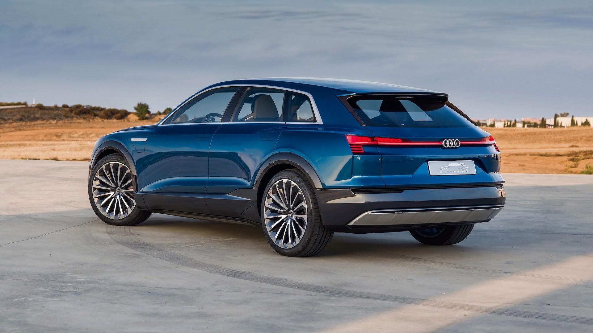 Audi Opens Reservations For ETron Quattro Arrives - Audi quattro 2018