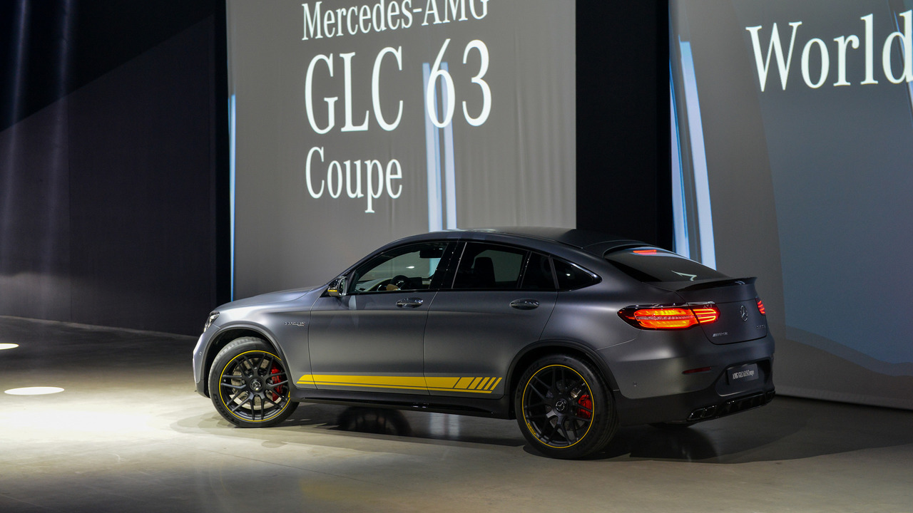 2018 Mercedes Benz GLC63 And Coupe: New York 2017