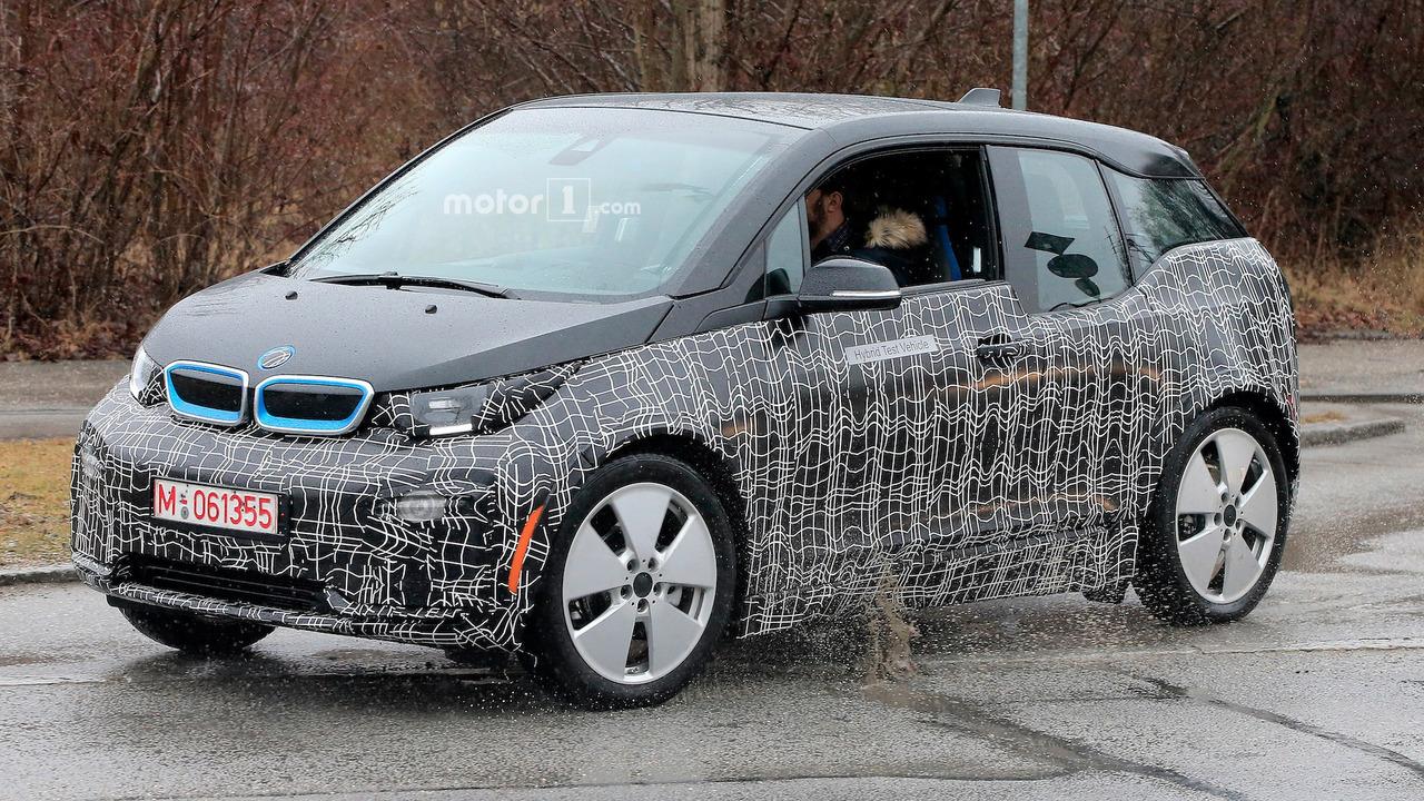 BMW i3 Spy Shots