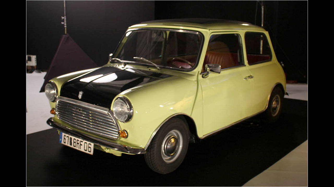 Mini 1000: Mr. Bean (1989 bis 1995), Mr. Bean macht Ferien (2007)