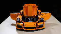 Porsche 911 GT3 RS lego crash