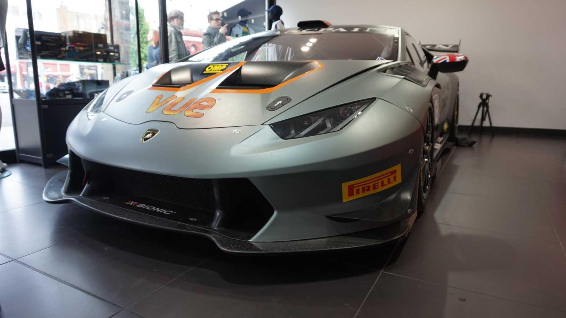 Racecarsdirect.com - 2016 Lamborghini Huracan Super Trofeo   2016 Lamborghini Huracan Super Trofeo