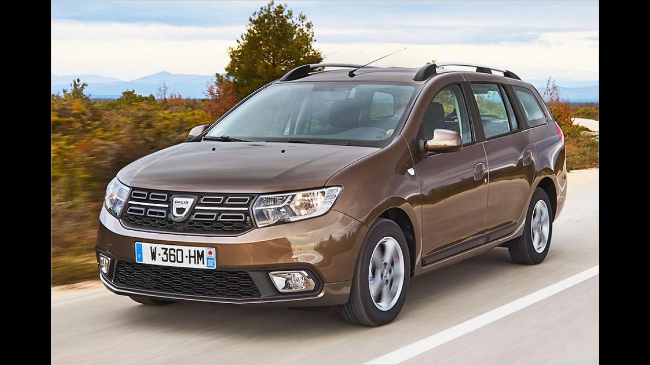 Platz 9: Dacia Logan, Durchschnittspreis 11.720 Euro