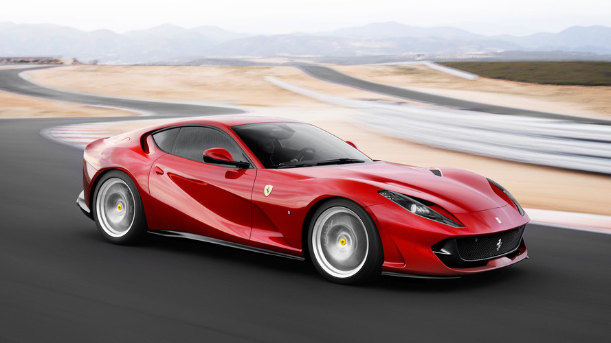 Ferrari 812 Convertible With Folding Hardtop In The Works?