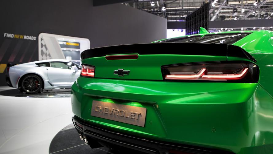 2017 Chevy Camaro Track concept