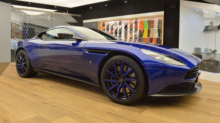 Aston Martin DB11 by Q will leave you feeling blue in Geneva