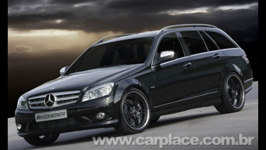 Kicherer deixa Mercedes C320 CDI 4MATIC com visual invocado e 265 cv
