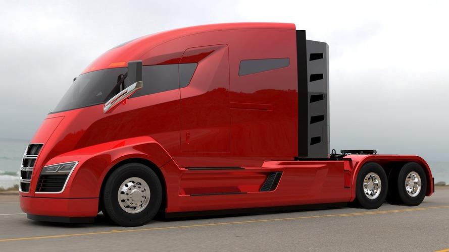 Nikola One semi-truck