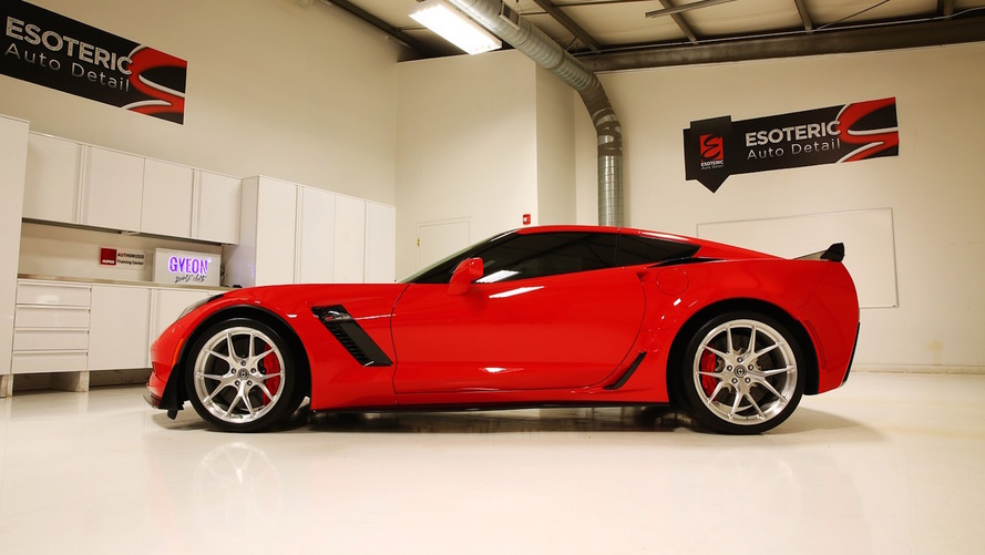 Corvette with 100 hours of detailing is the cleanest Z06 on eBay