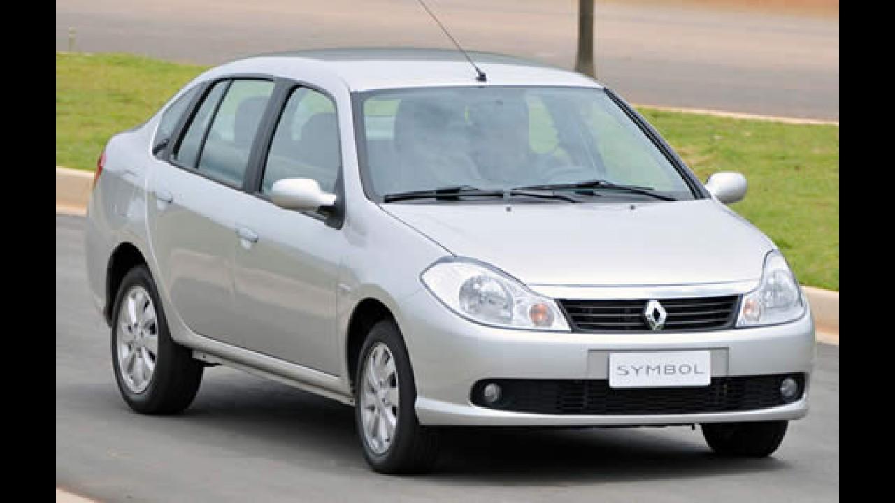 Renault lança oficialmente o Symbol no Brasil por R$ 41.190 - Veja fotos