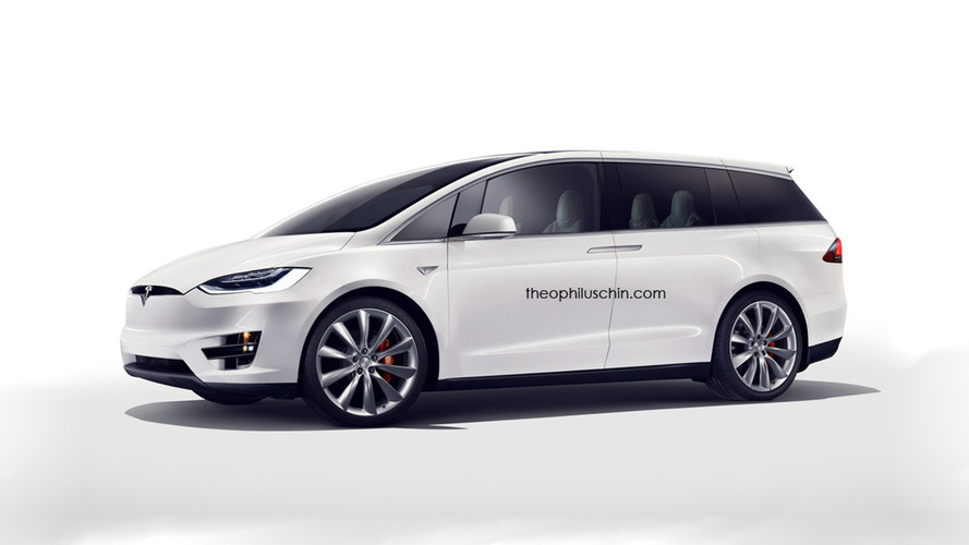 Tesla minivan concept looks like the coolest family hauler around