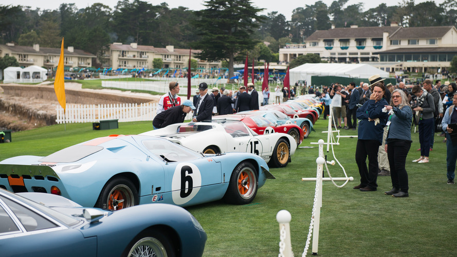 Ford GT40 no Pebble Beach Concours d'Elegance