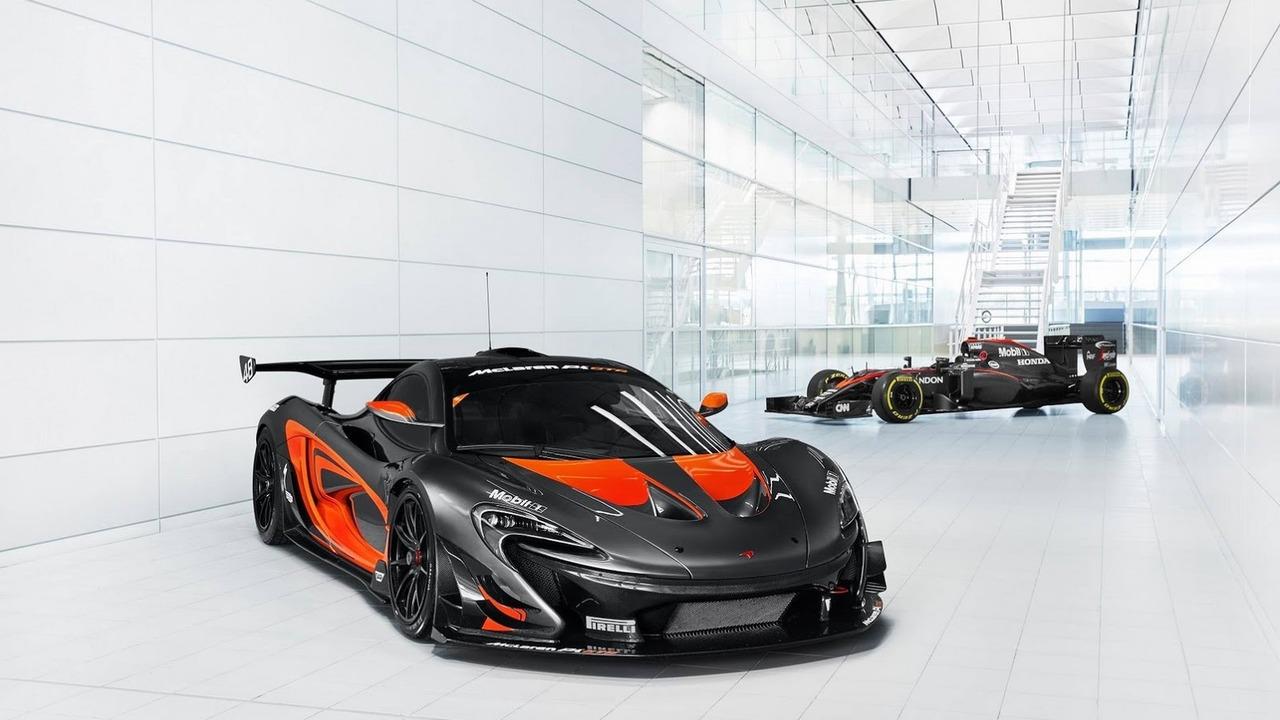 McLaren P1 GTR F1 Livery