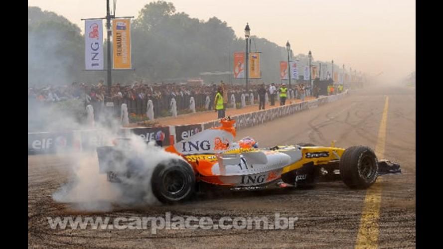 Renault Roadshow: vídeo mostra motor do ING Renault F1 Team tocando MPB