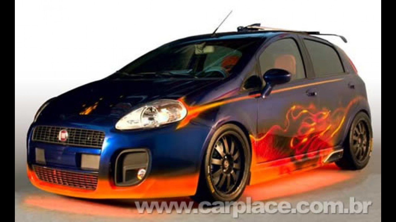 Fiat Punto Icaro é o primeiro carro