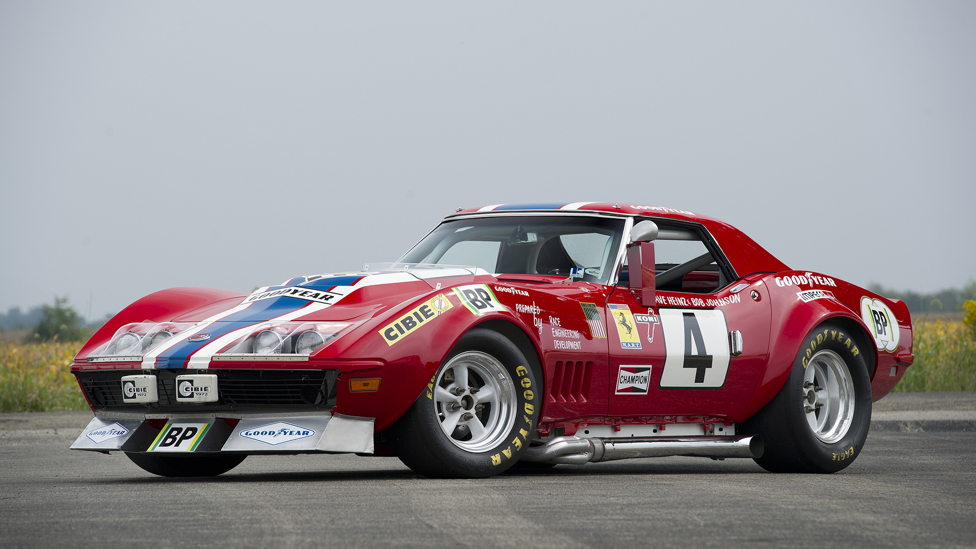 The Corvette That Masqueraded As A Ferrari To Race At Le Mans Go Back Gt Gallery For Automotive Electrical Circuit Symbols
