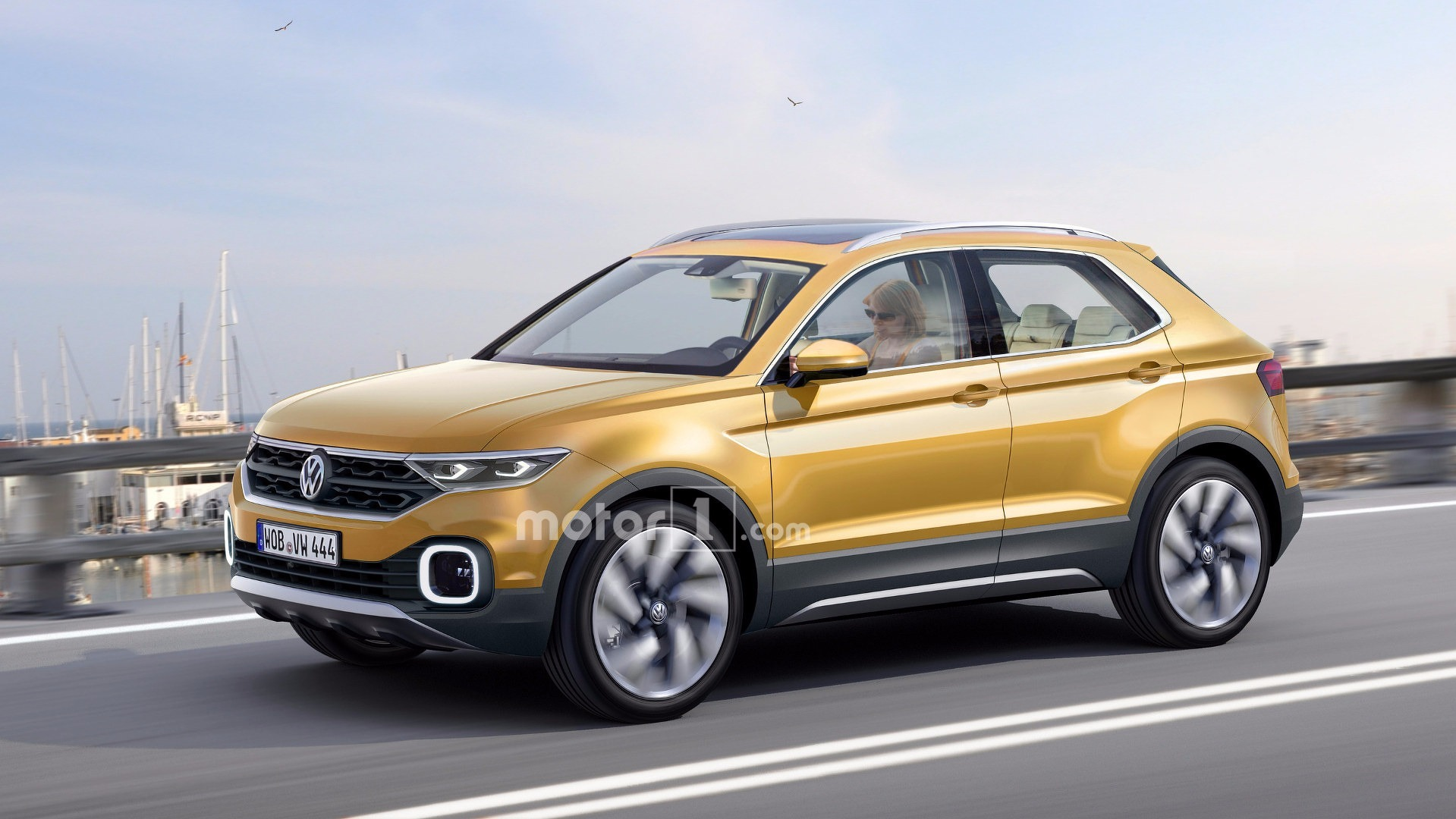 Vw Suv Polo >> Upcoming Vw Polo Suv Rendered And Caught On Video